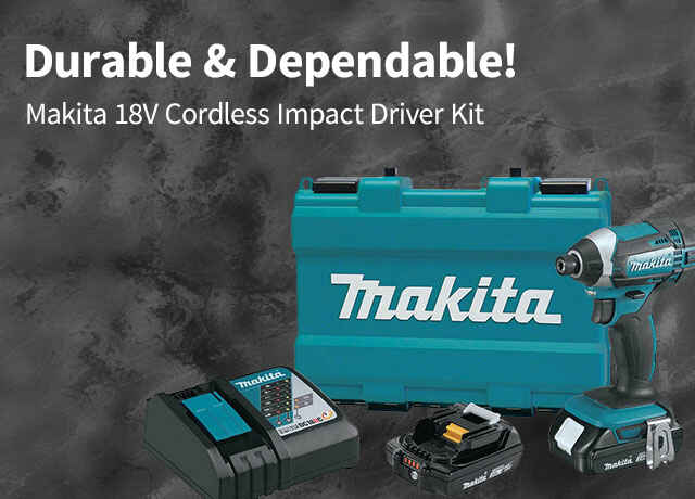 Makita Cordless Impact Driver Kit