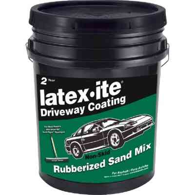 Latex-ite 4.75 Gal. Sand Mix Driveway Sealer and Filler