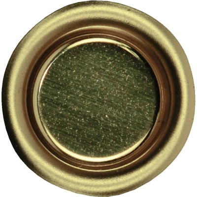 Johnson Hardware 3/4 In. Dia. Brass Flush Cup Pocket Door Pull (4-Count)