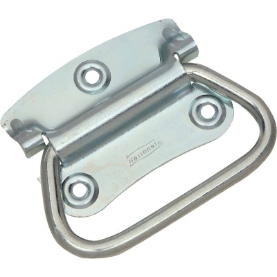 "National Zinc 2 3/4"" Steel Chest Handle"