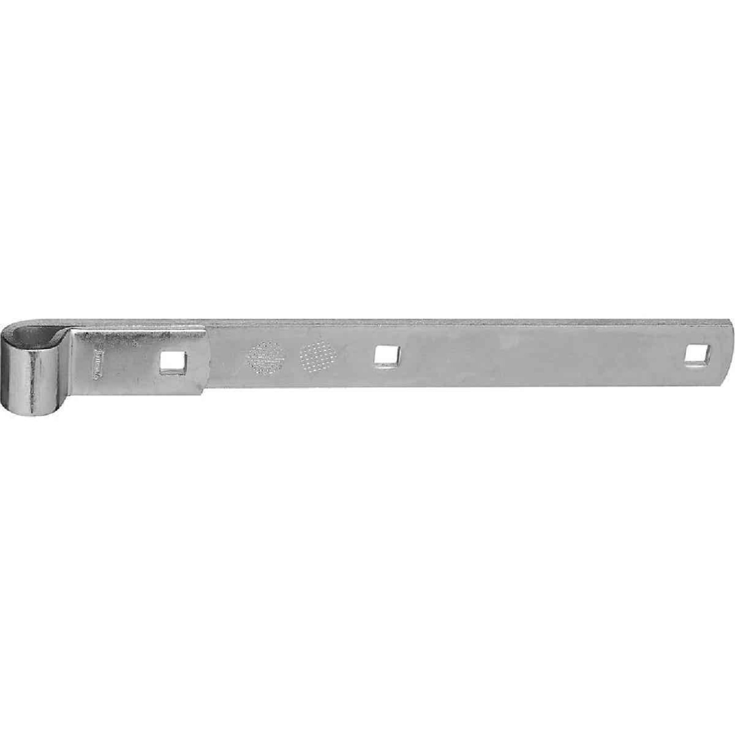 National 12 In. Zinc Hinge Strap Image 1
