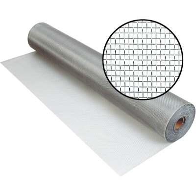 Phifer 30 In. x 100 Ft. Brite Aluminum Screen