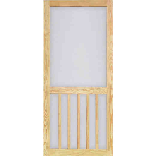 Screen Tight Timberline 32 In. W x 81 In. H x 1 In. Thick Pressure Treated Wood Screen Door