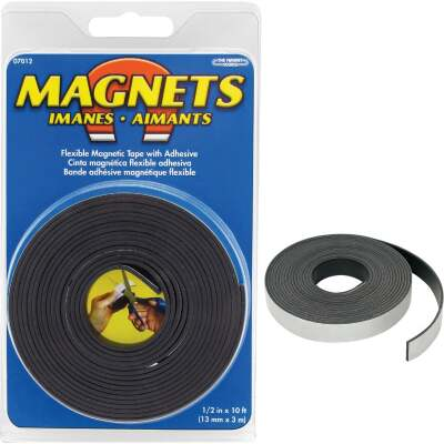 Master Magnetics 10 Ft. x 1/2 in. Magnetic Tape