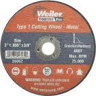 Weiler Vortec 3 In. x 1/32 In. Type 1 Cut-Off Wheel Image 1
