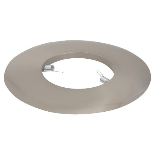 Thomas 6 In. Brushed Nickel Open Recessed Fixture Trim