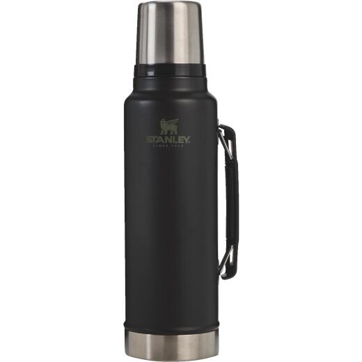 Stanley Legendary Classic 1.5 Qt. Black Insulated Vacuum Bottle
