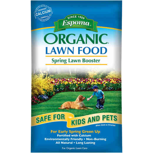 Espoma Organic 30 Lb. 5000 Sq. Ft. 9-0-0 Spring Lawn Booster Lawn Fertilizer
