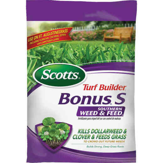 Scotts Turf Builder Bonus S Southern Weed & Feed 33.39 Lb. 10,000 Sq. Ft. 29-0-10 Lawn Fertilizer with Weed Killer