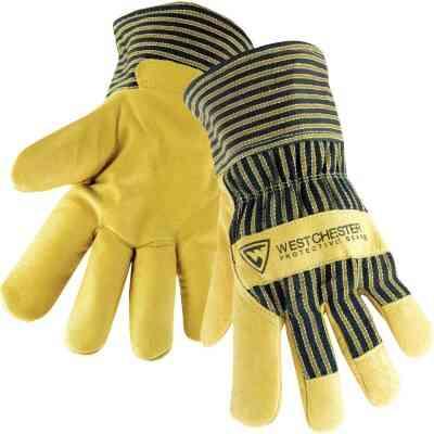 West Chester Protective Gear Men's XL Grain Pigskin Leather Work Glove