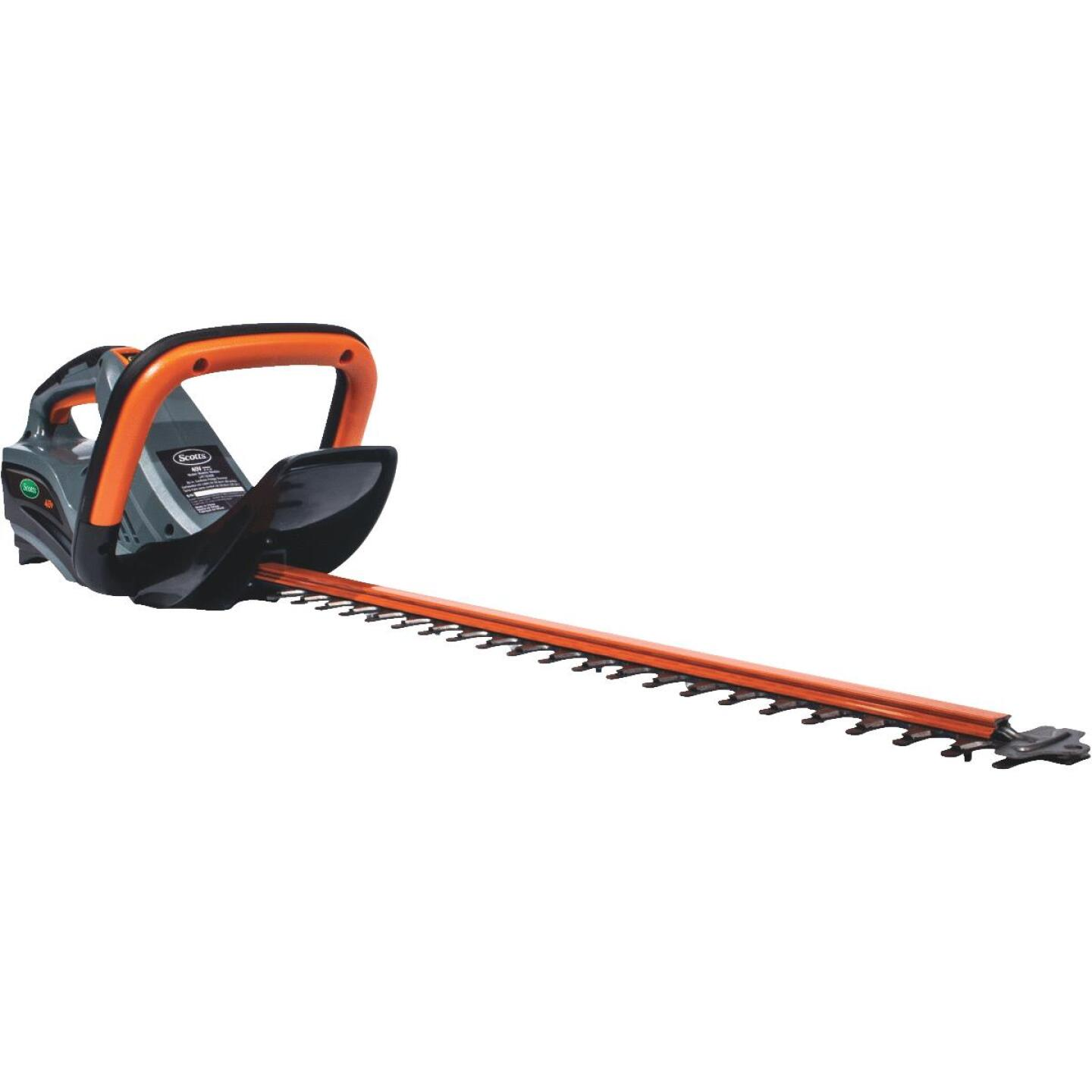 Scotts 24 In. 40V Lithium Ion Cordless Hedge Trimmer Image 1