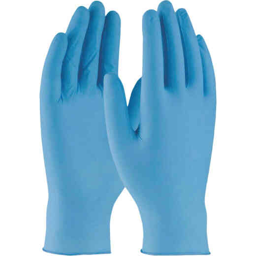 West Chester Protective Gear Medium Nitrile Industrial Grade Disposable Glove (100-Pack)