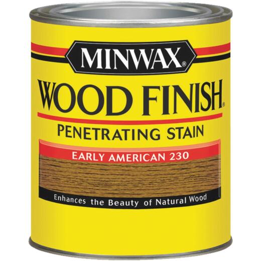 Minwax Wood Finish Penetrating Stain, Early American, 1/2 Pt.