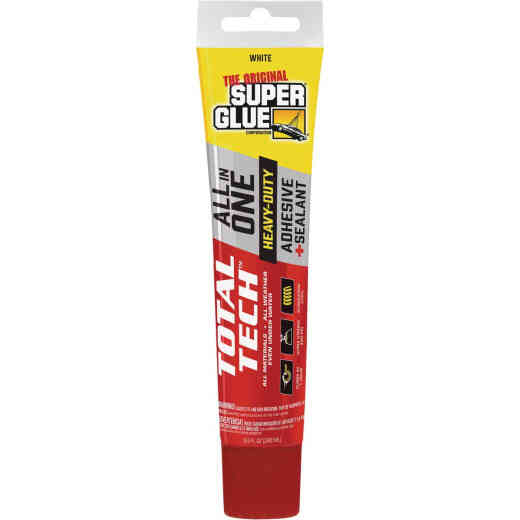 Super Glue Total Tech 4.2 Oz. White Construction Adhesive & Sealant