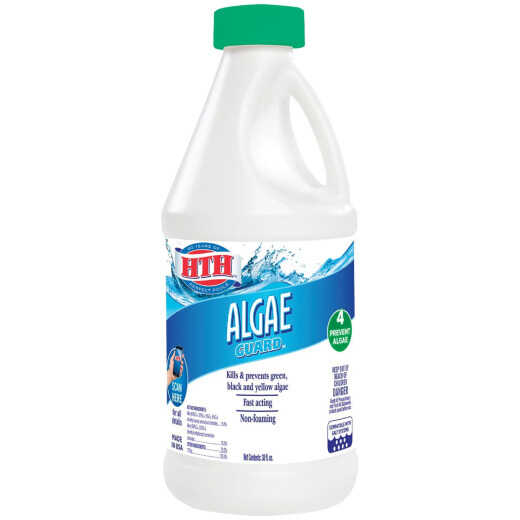 HTH Algae Guard 30 38 Oz. Liquid Algae Control